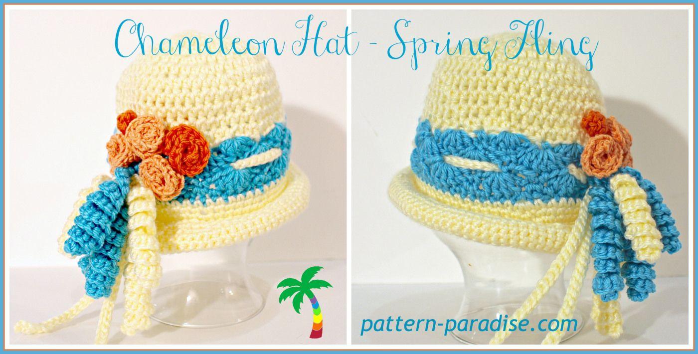FREE CROCHET PATTERN - Spring Fling