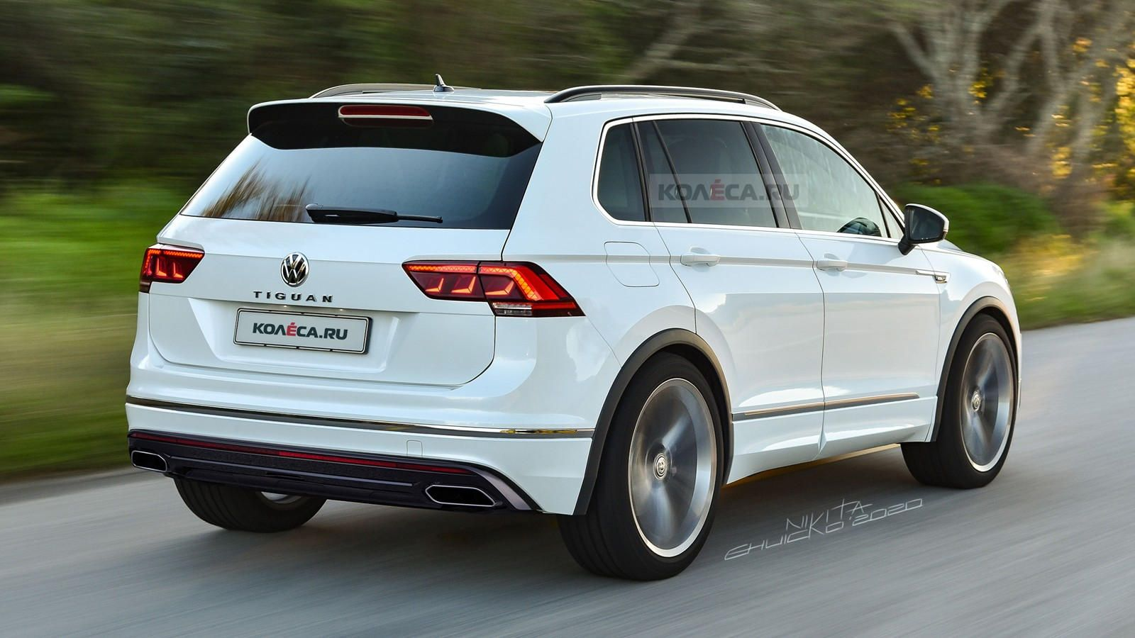 This Is Our Best Look Yet At The 2021 Vw Tiguan We Re Expecting The Volkswagen Tiguan Facelift To Debut At Geneva In March In 2020 Volkswagen Mini Van Polo R