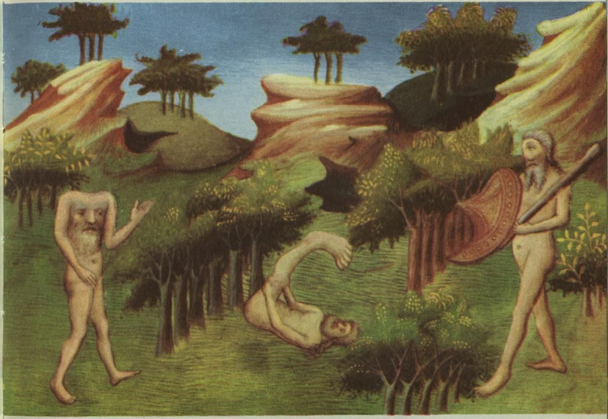 blemmyae cyclops and scipode mythological creatures pinterest