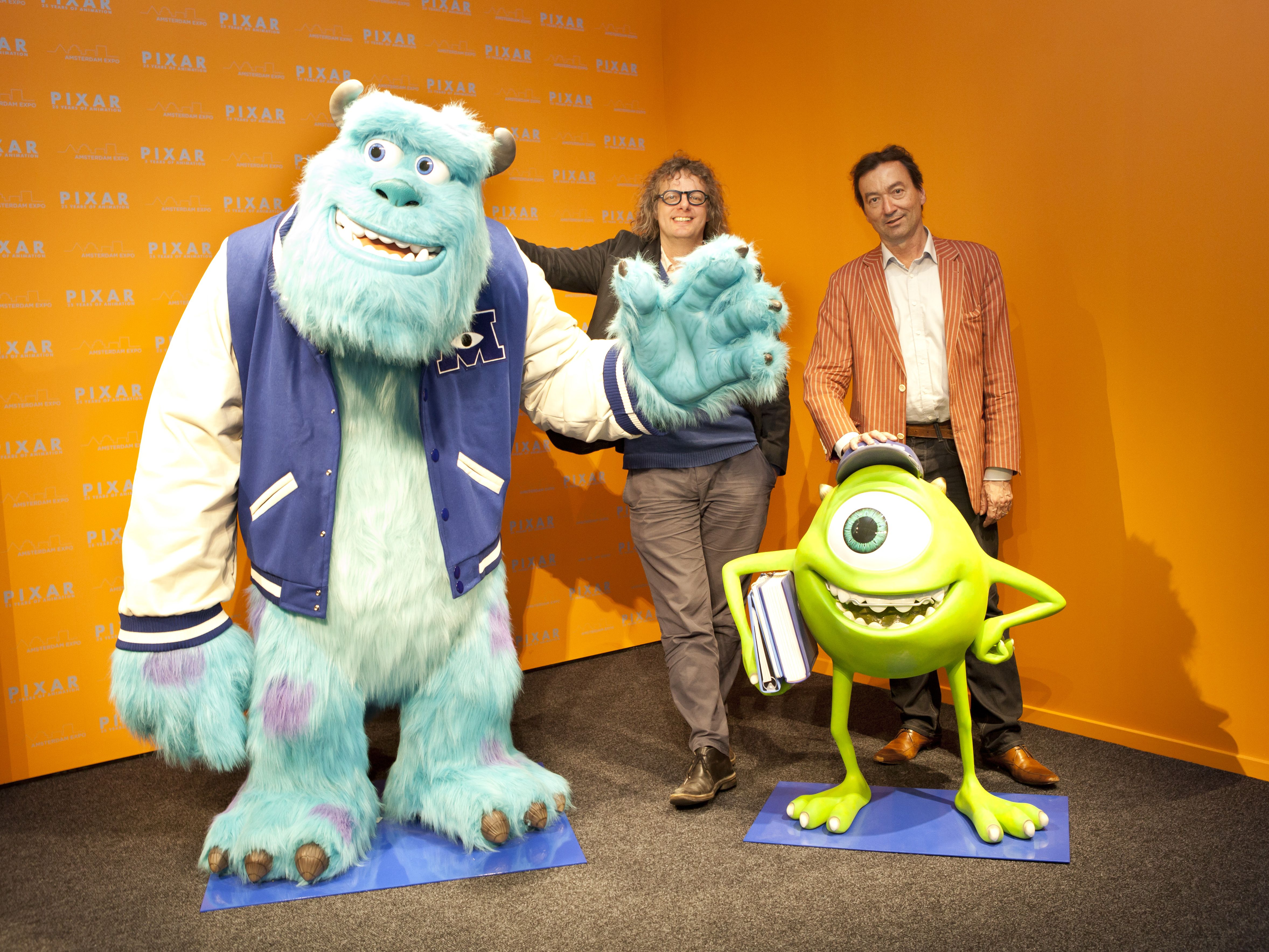 Personages uit Monster University (guess who)