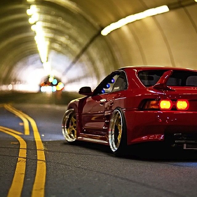 Gotta love loud exhausts in a tunnel. #slammed #stanced #fitted #hellaflush #toyota #mr2 #jdm #love #picoftheday #instagood #igdaily #igers #xsauto #bornauto #xenonsupply