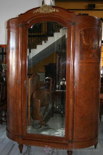 Armario imperio antig edades muebles antiguos for Muebles antiguos vintage