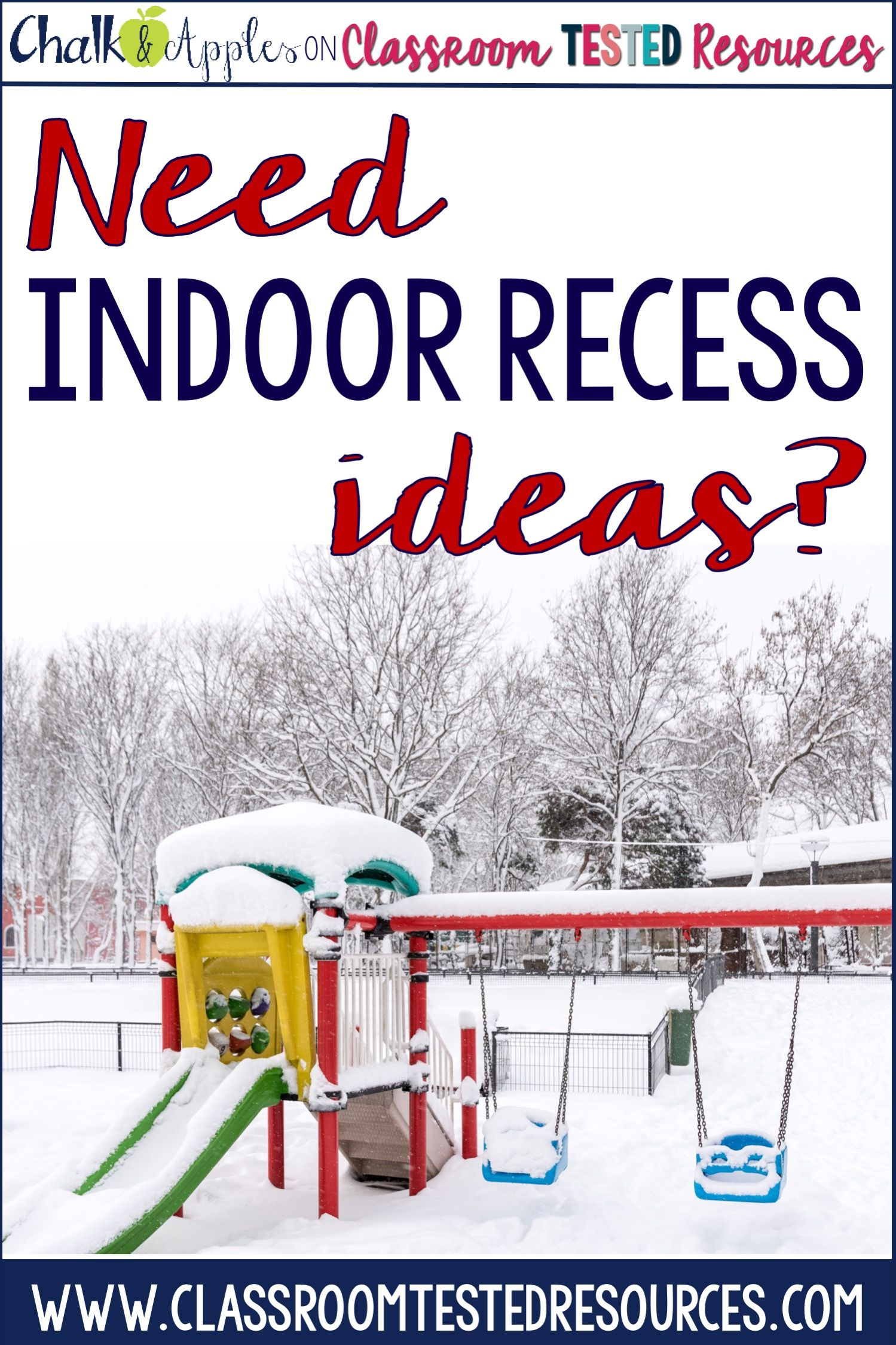 Tons Of Elementary Indoor Recess Ideas To Get You Through