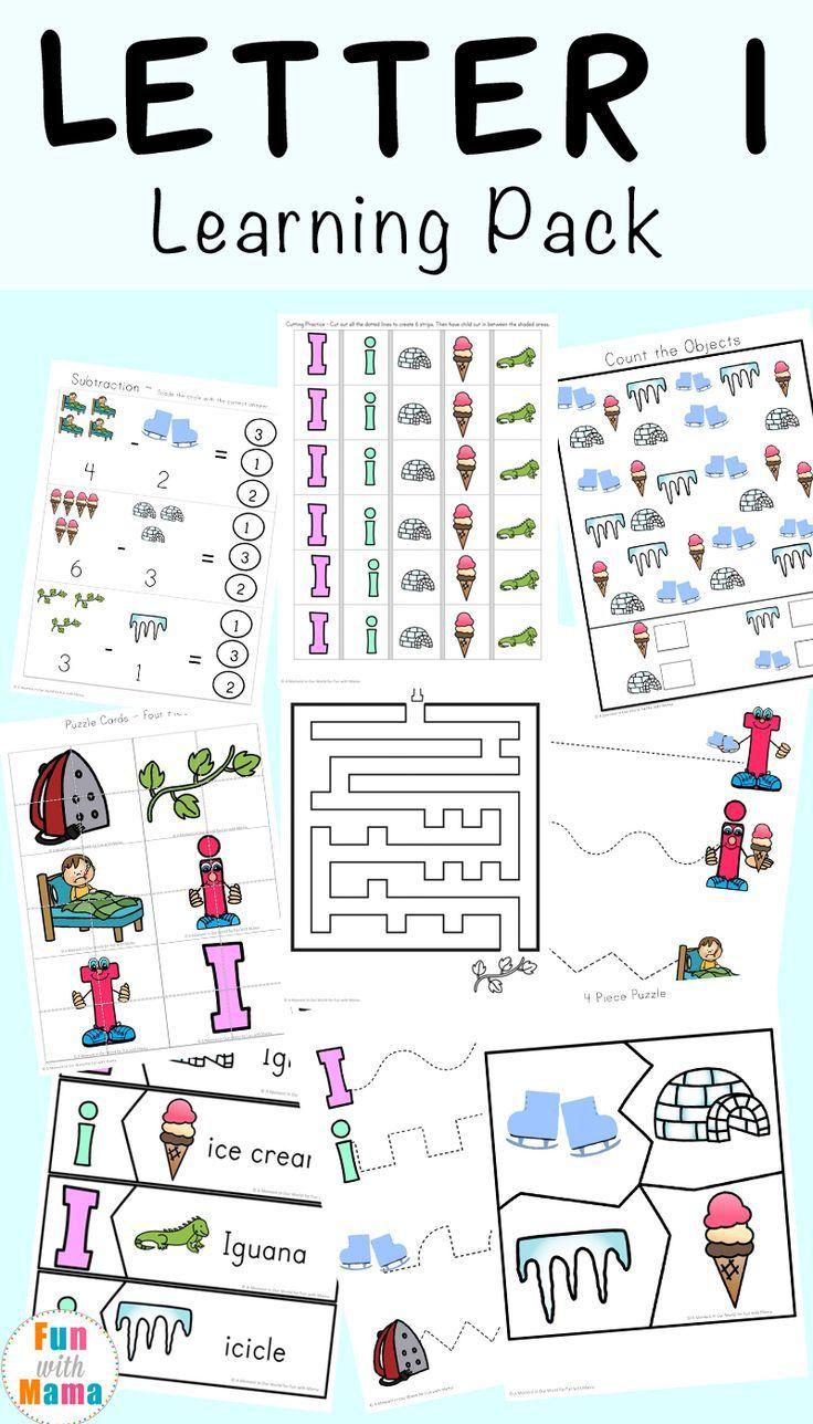 Letter I Worksheets Activities For Preschool Letter I Activities Letter I Worksheet Preschool Letters [ 1288 x 736 Pixel ]