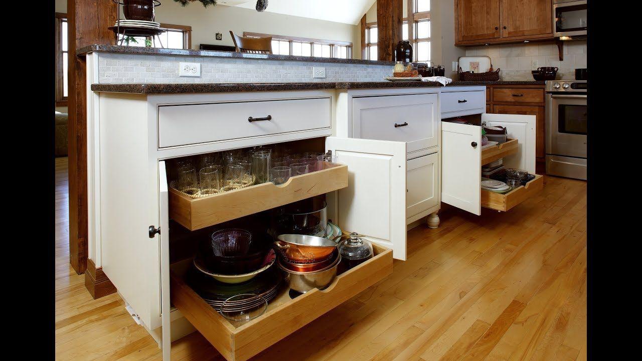 Kitchen Design Ideas: Cabinet Organization Features - Home ...