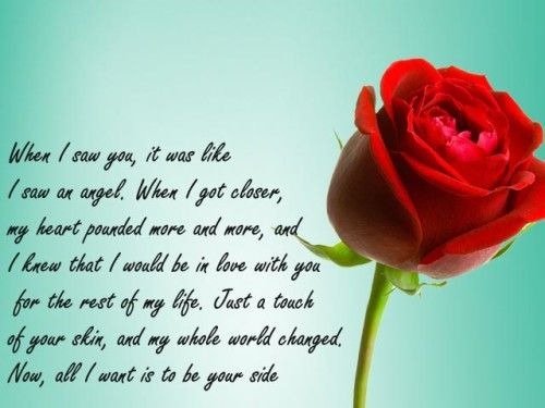 30 Short Love Poems For My Wife | Love poems | Pinterest | Day ...