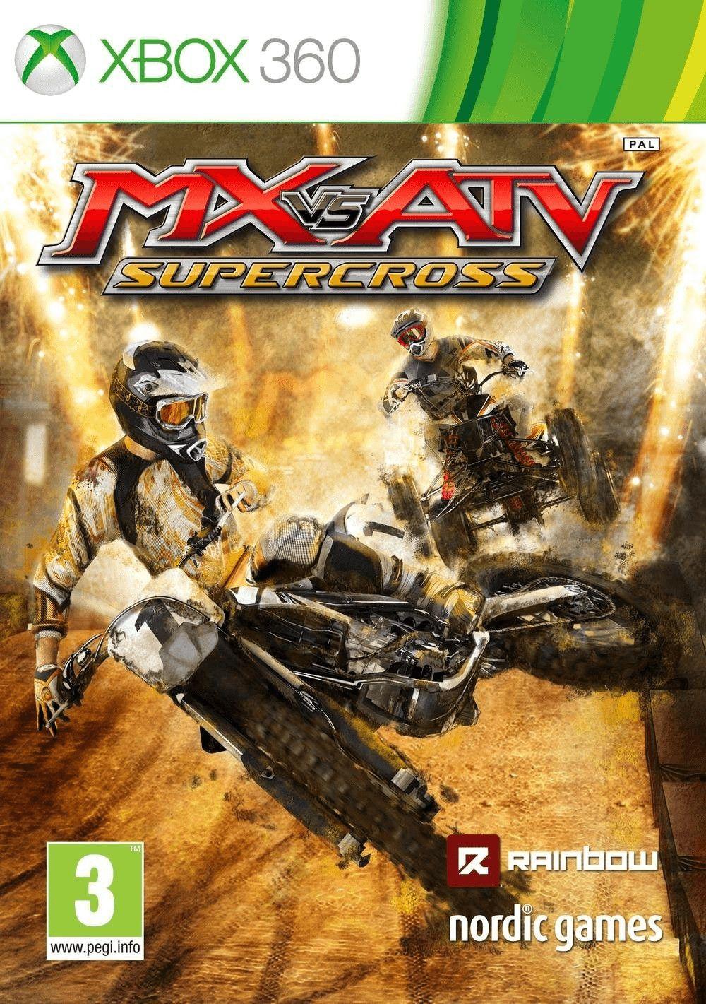 Mx Vs Atv Supercross Xbox 360 Nordic Games Upcoming Video Games Xbox One Games