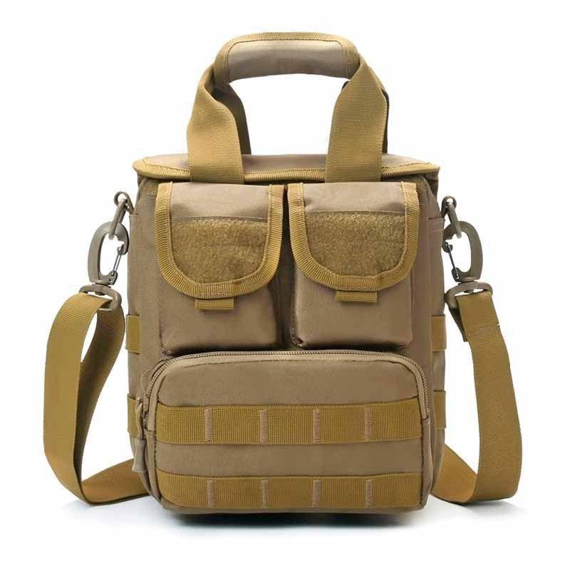 Herren Military Umhängetasche Reisetasche Messenger Schultertaschen Schule Bags