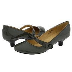 fdd3a6c6e25e Dark grey patent leather  Low heel  Mary Jane  LOVE. They also come in many  other awesome colors