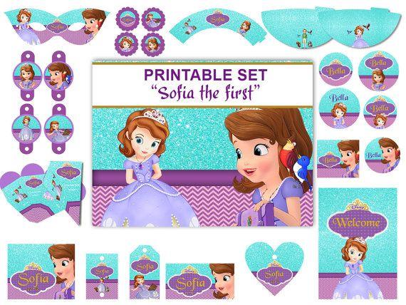 Pin By Duygukoc Cirkin On Imelia Bday Ideas Sofia The First Birthday Party Princess Sofia Party Sophia Birthday Party