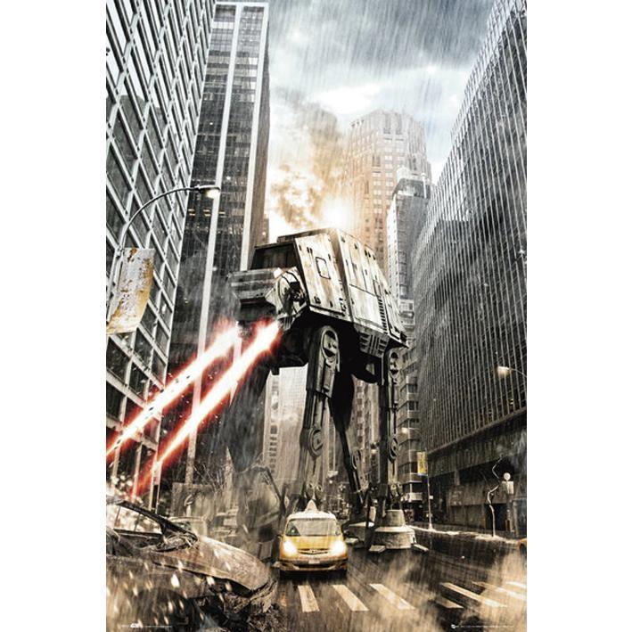 Manhat-atan (Poster) van Star Wars   Starships, space cities, alien ...