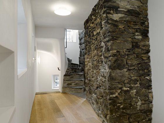Treppe   Wand Alpenländisch Pinterest Innenarchitektur - treppen wand gestalten