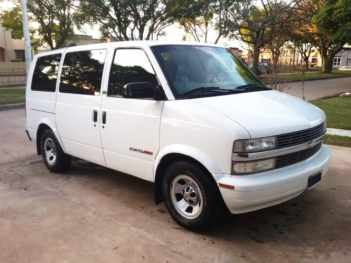 All Chevy 2001 chevy astro van : Chevrolet Astro Awd - Van 4x4 Full 8 Pers, No Econoline - Año 2002 ...