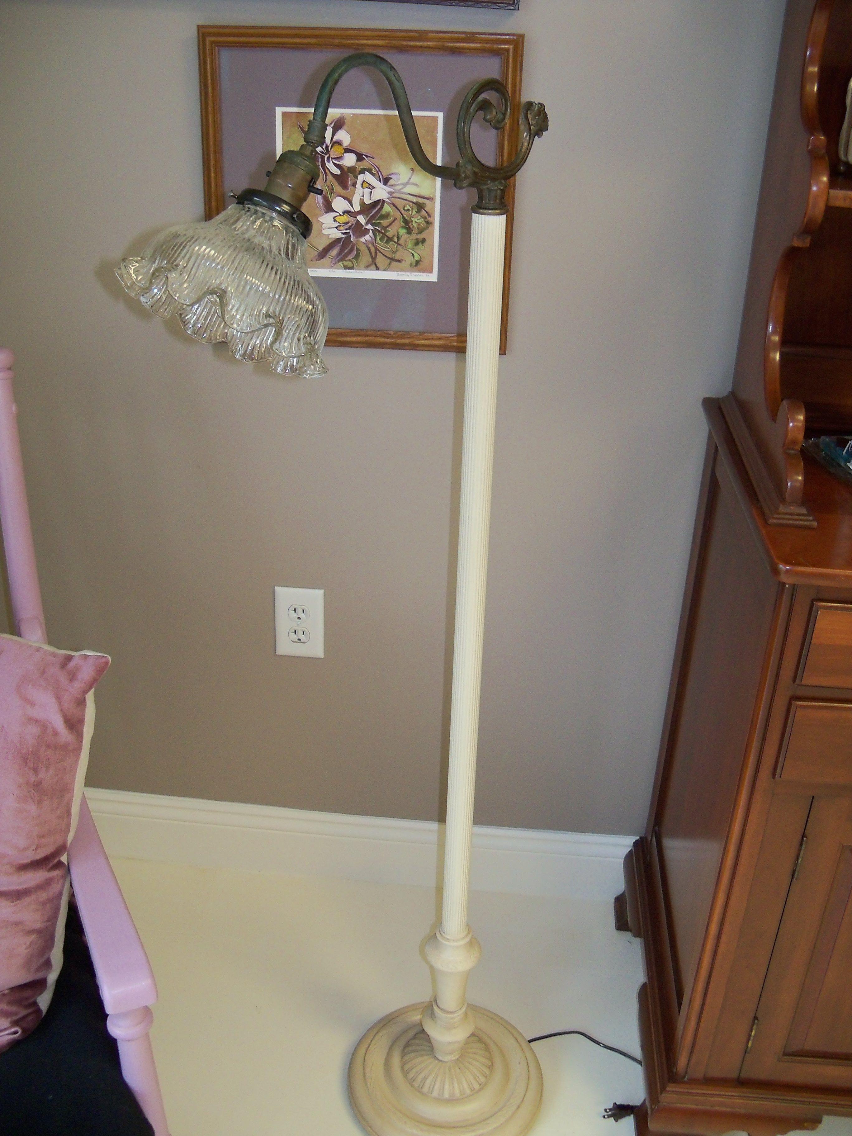 brass index pharmacy vintage lamp antique floors floor adjustable manly