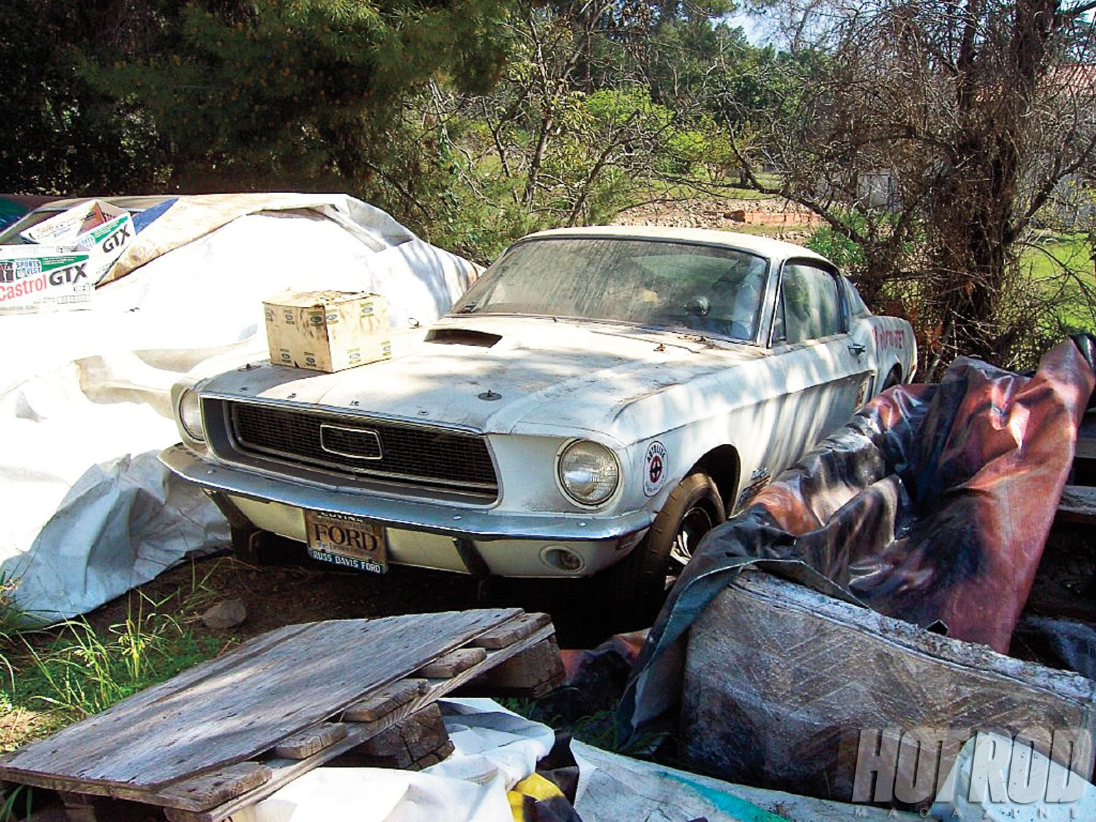 Jim heidenreichs backyard resembled a salvage yard joe boda took this picture of the cj where jim provided by hotrod