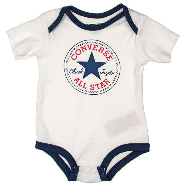 Converse Baby Boy Bodysuit X 5 Gift Box Featuring Polyvore Baby Baby