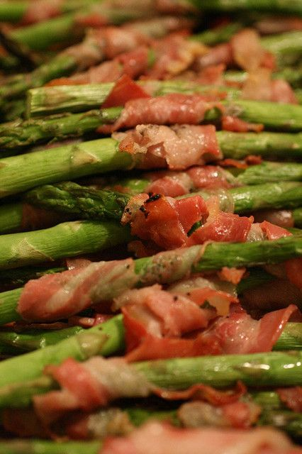 Recipe for Pancetta-Wrapped Asparagus