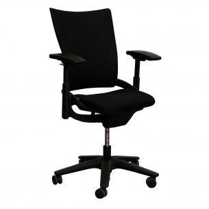 allsteel sum used task chair, black $159 #officesteals #sale