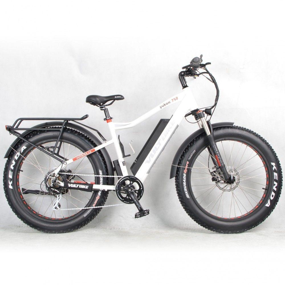 Voltbike Yukon 750 Limited White Color Velo Electrique Velo Electrique
