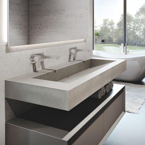 #concretesink | Muebles para baños modernos, Diseño de ...
