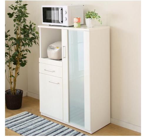 美品 定価半額以下 ニトリ キッチン収納棚 レンジ 炊飯器 食器 M0819