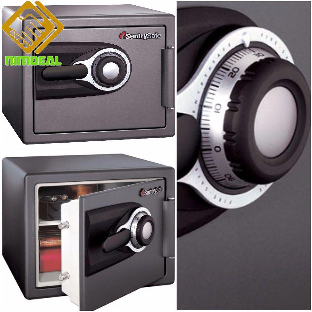 FIREPROOF SAFE BOX Combination Security Lock Box Cash Gun