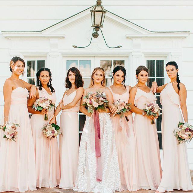 8e3d22641f04 Gwennie Dress - Blush Pink in 2019 | Celebration: Weddings | Blush ...