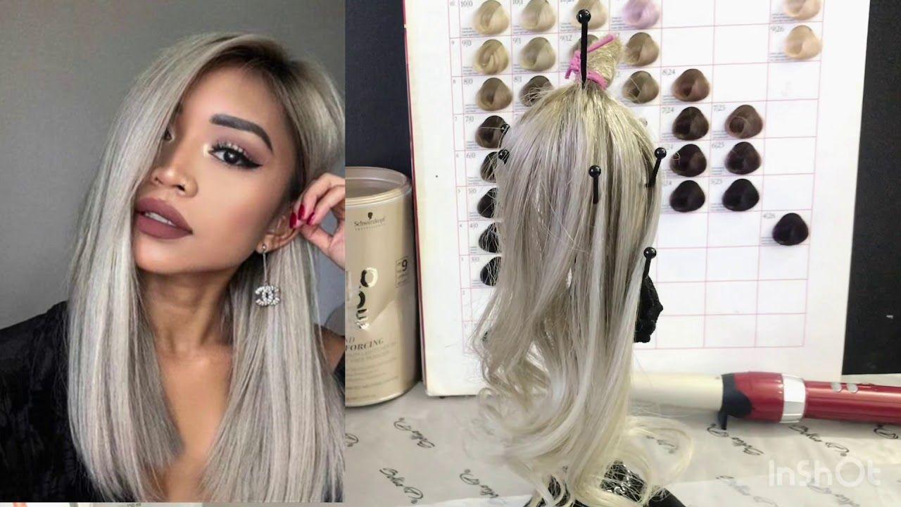 الاشقر المميز الرمادي مع خبيرة الالوان كولوريست راضية Beauty Youtube Tutorials Hair