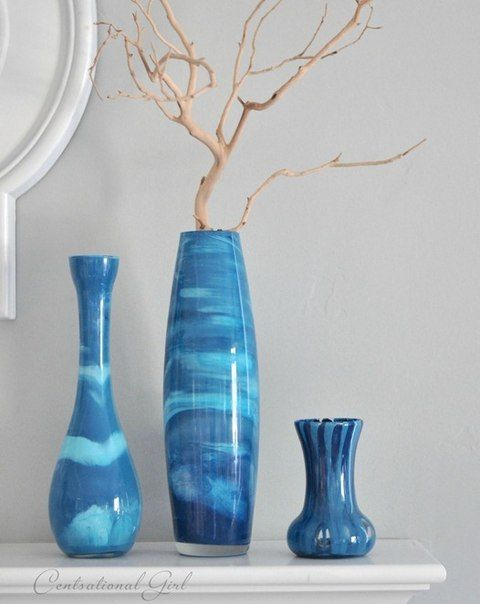 Paint Glass Vases Diy Crafts And Decorating Pinterest Painted