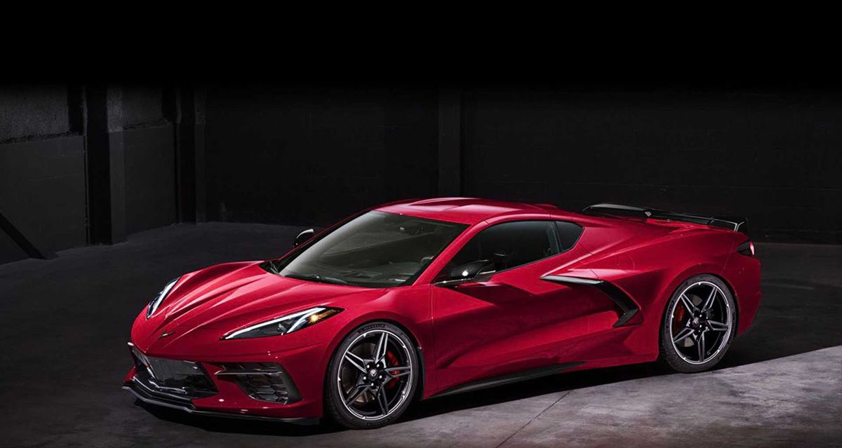 新型コルベットがフライング公開 6 2リッターv8 495馬力 0 100km H加速3秒以下 デタッチャブルトップ そしてゴルフバッグが二個積める Chevrolet Corvette Chevy Corvette Corvette Stingray