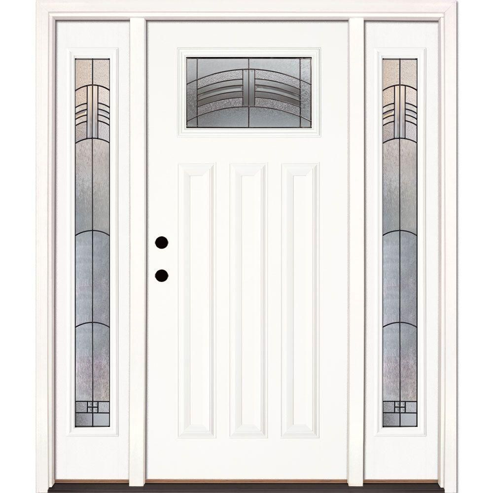 Feather river doors 635 in x 81625 in rochester patina
