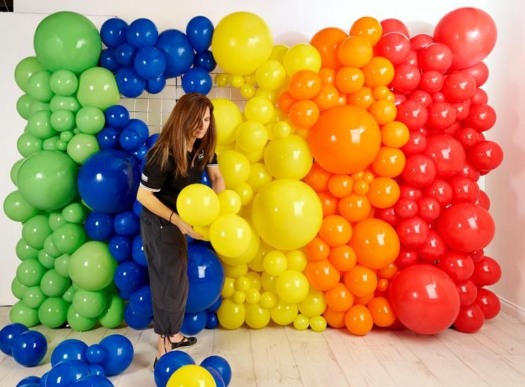 Amazing Wall Balloon Decorations Image - Wall Art Design ...