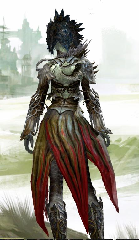 Sylvari Armor Back