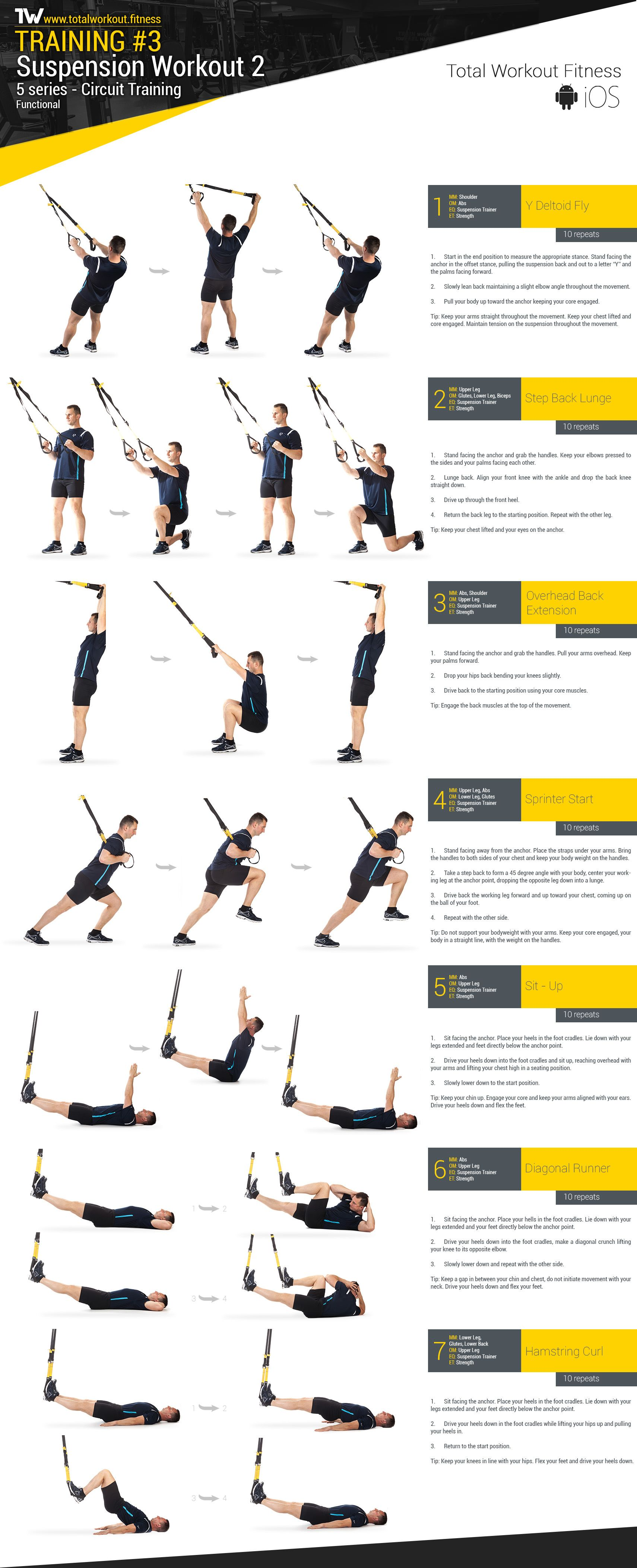 Training 3 Suspension Workout 2 Total Workout