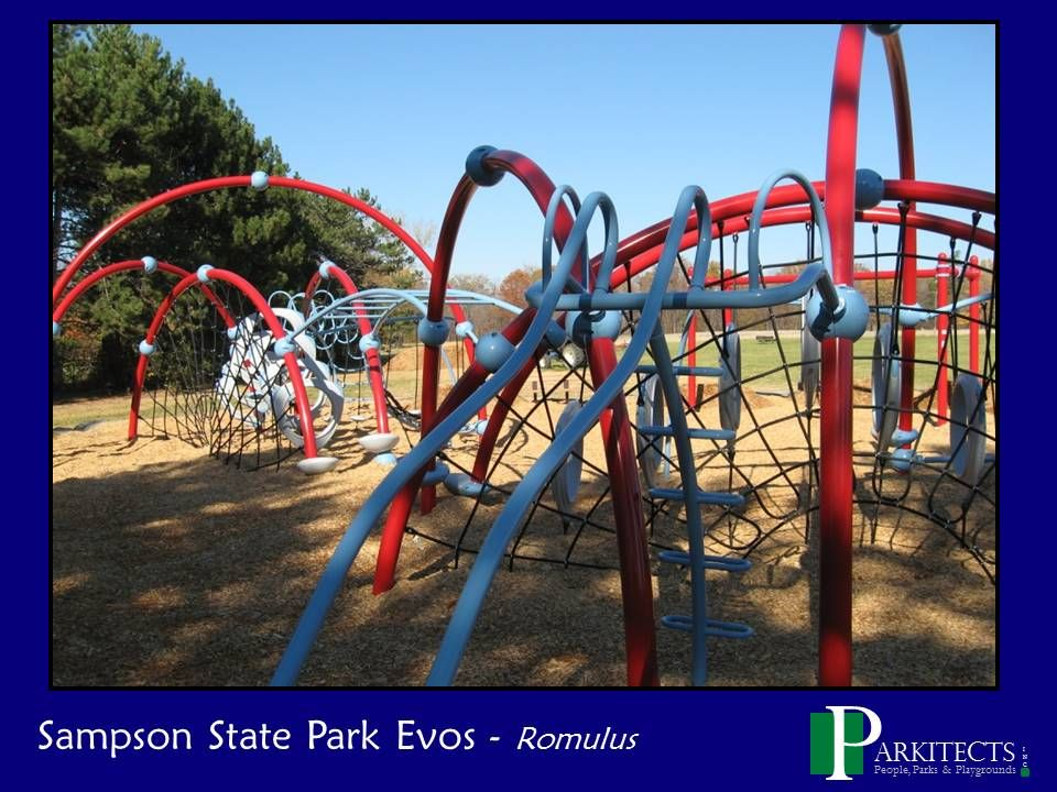Sampson State Park in Romulus, NY - Evos Play Area