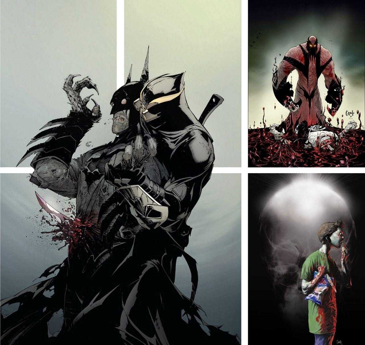 Spawn Comic Book Art
