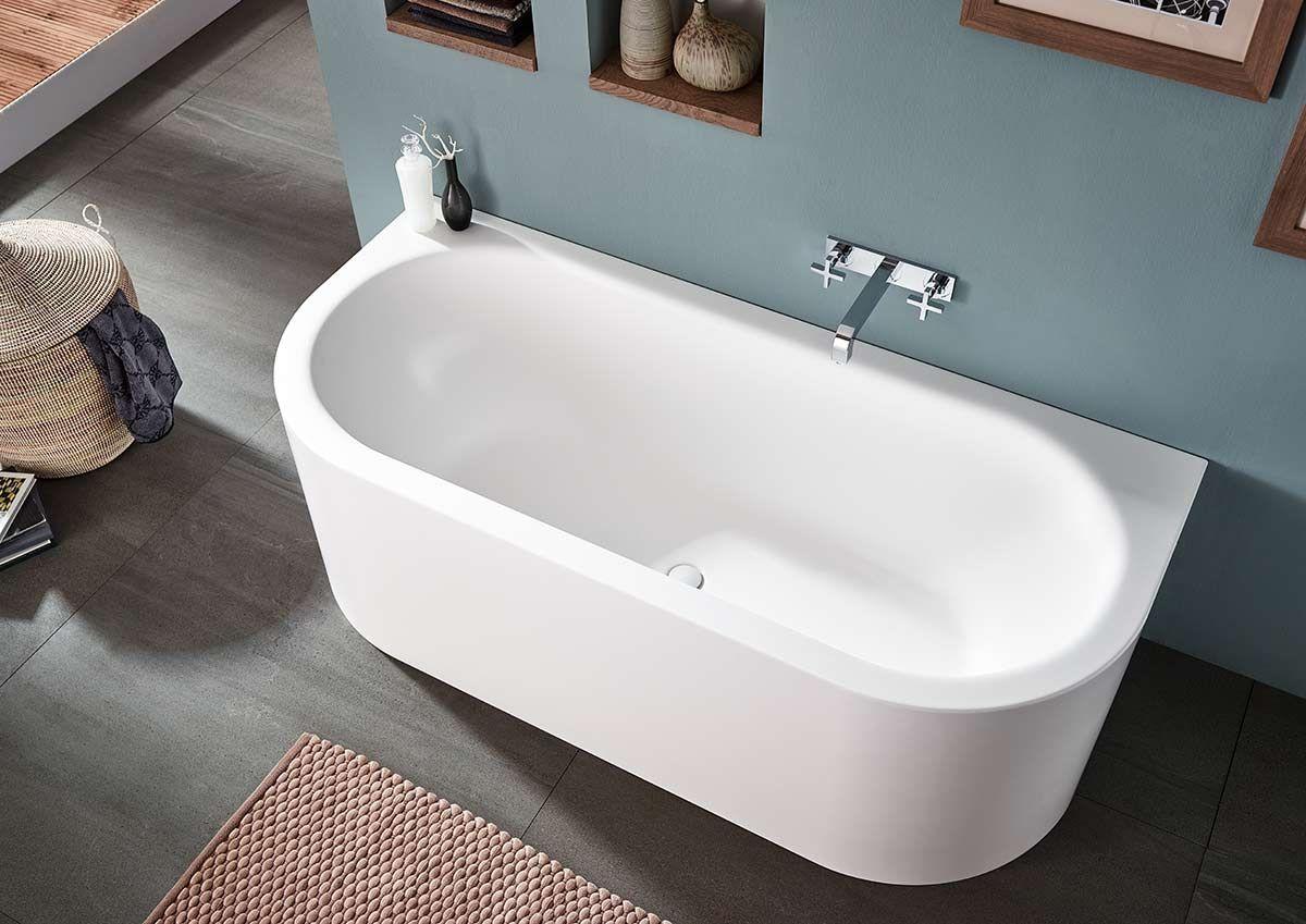 Ideen Fur Freistehende Badewanne An Der Wand Von Mauersberger Badewanne Freistehende Badewanne Kleine Badewanne