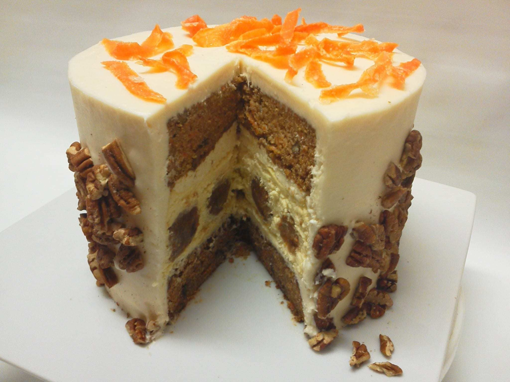 Carrot cake cheesecake delivered carrot cake gourmet