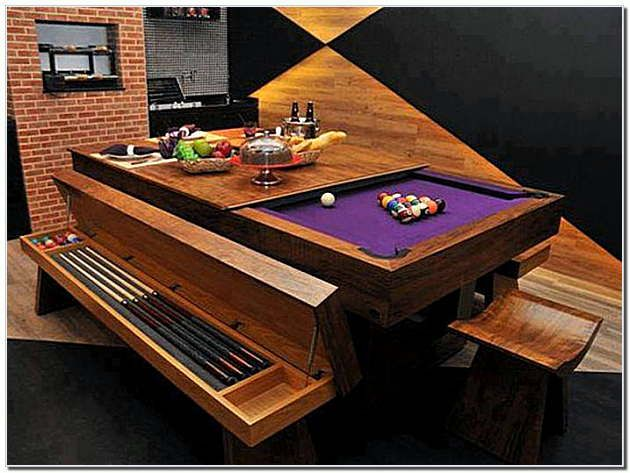 Pool Table That Turns Into A Dining Table The Dining Table Turns