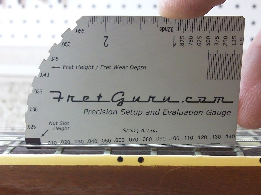 graphic regarding String Action Gauge Printable identified as Pin upon Guitar Participating in and Songs