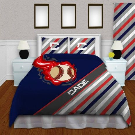 Incroyable Baseball Bedding Set For Kids In Queen, King, And Twin Sizes #159 #Home # Bedding #EloquentInnovations #Sports #Bedding