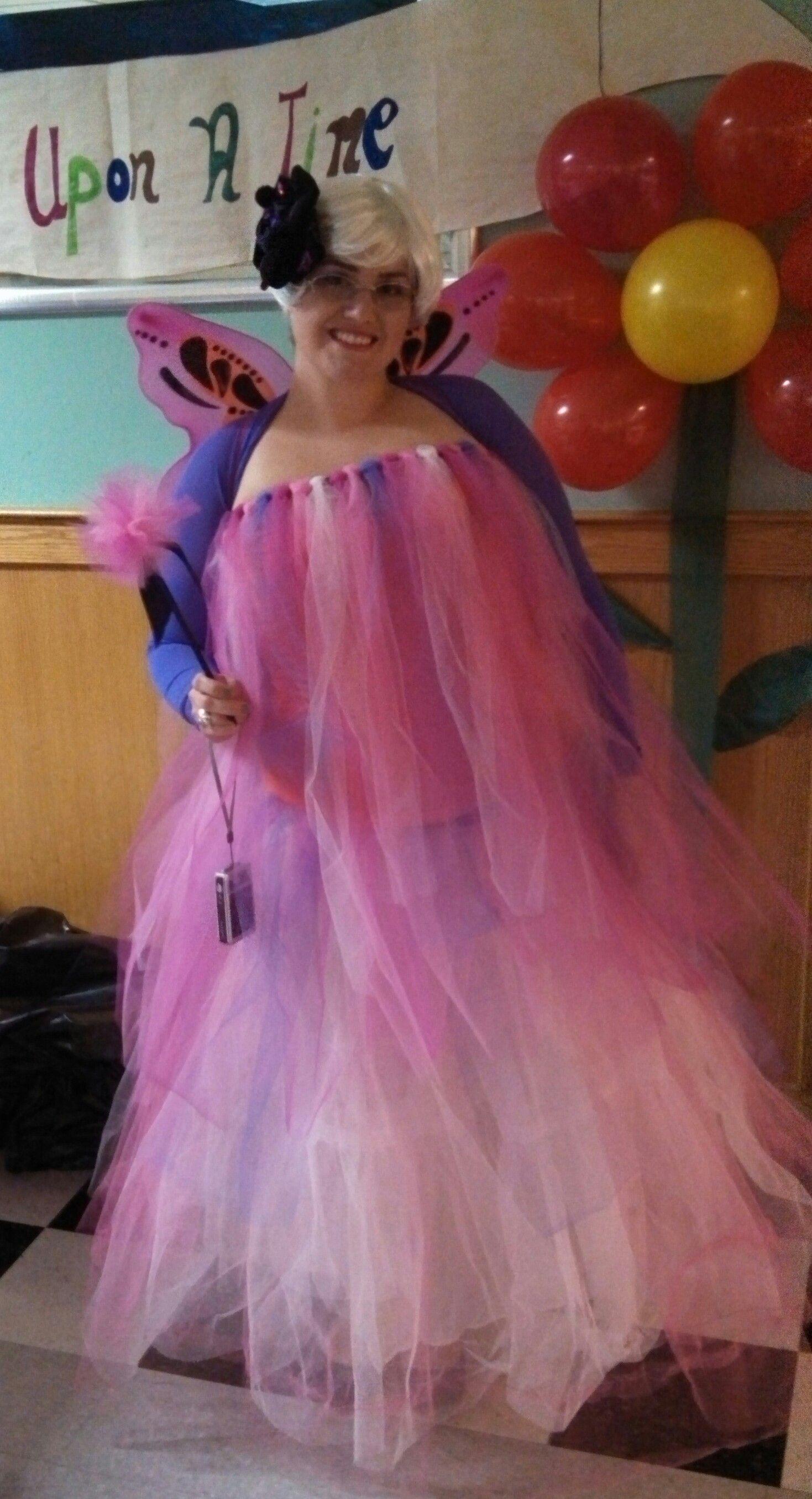 Diy Fairy Godmother Costume Using This Simple Homemade Tutu