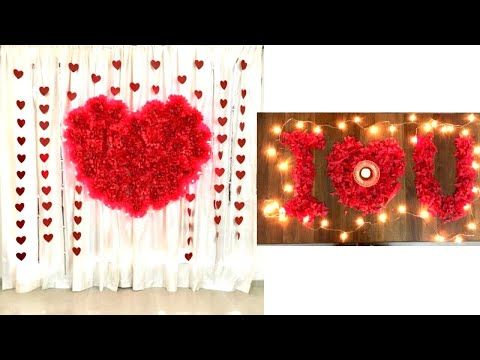 Anniversary Decoration Ideas At Home Romantic Room Decor Ideas