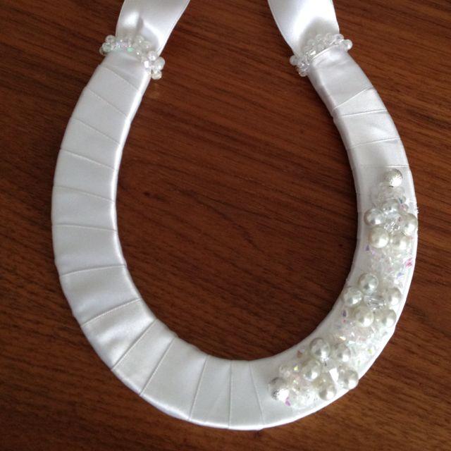 Wedding horseshoe handmade with love horse crafts for Bulk horseshoes for crafts