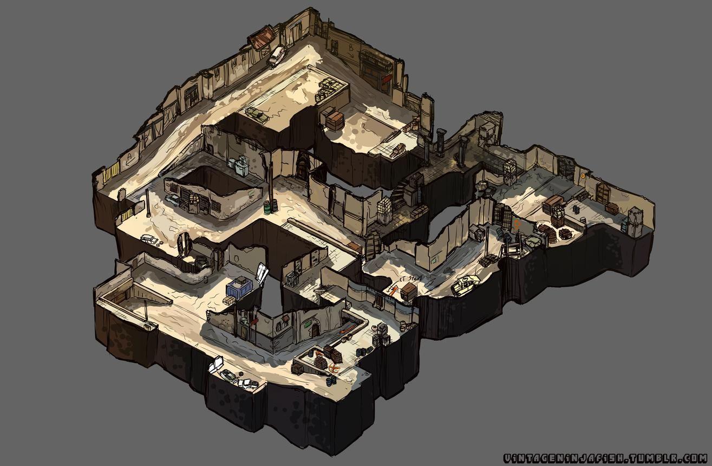 CS:GO Map Art   front defense   Isometric map, Artist games ... on