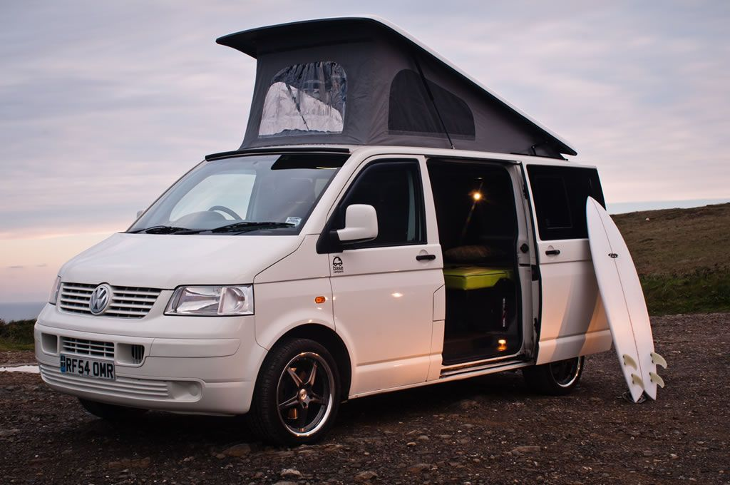 Volkswagen Transporter T5 for Sale, with Elevating Roof ...