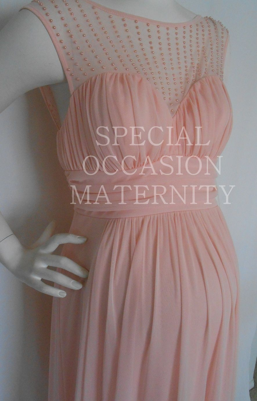 Long maternity dress for special occasion pearls maternity long maternity dress for special occasion pearls ombrellifo Images