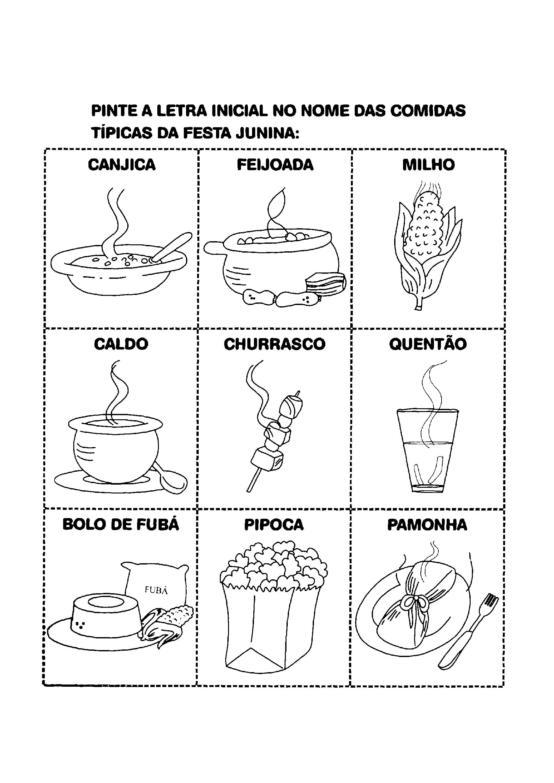 Resultado de imagem para COMIDA JUNINOS PARA IMPRIMIR   Juninos ...