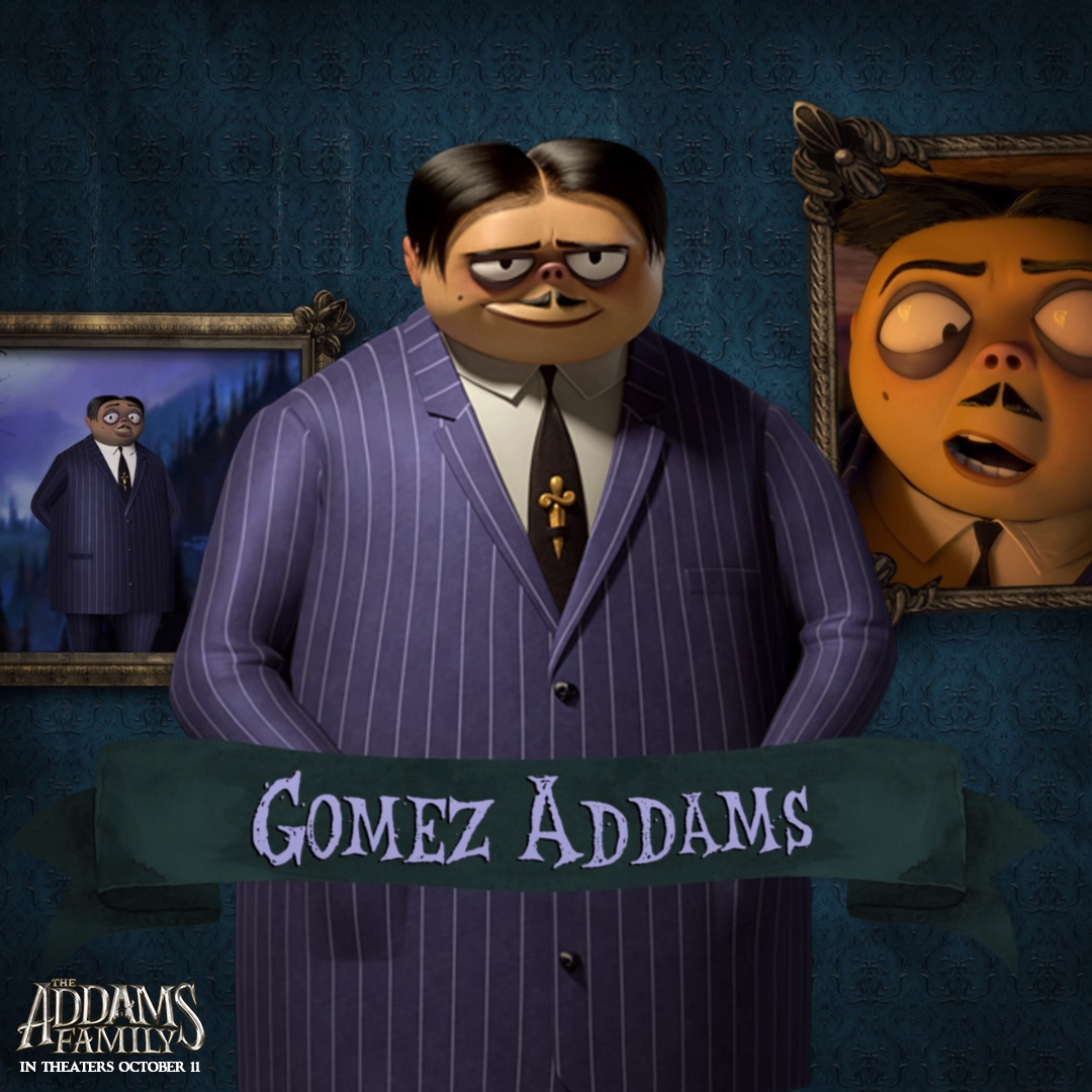 Meet Gomez Addams Video Addams Family Movie Addams Family Cartoon Family Cartoon