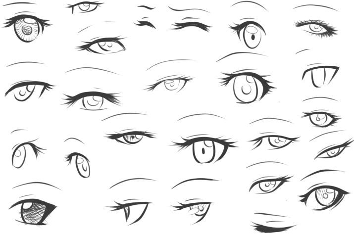 How To Draw Eyebrows Anime
